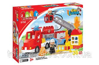 Конструктор Jdlt Пожарная Машина 36 Деталей Ps