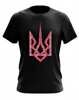 Мужская футболка с национальной символикой  (MF-63-15)