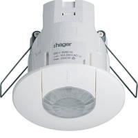 Датчик присутствия внутринней установки, 360град., 16А, 230В, Hager EE815
