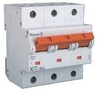 Силовой автоматический выключатель Eaton (Moeller) PLHT, C 100A 3-х пол.