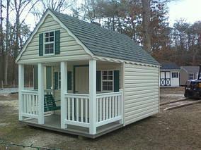 Садовые домики в американском стиле