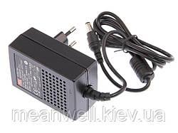 GS18E12-P1J AC DC адаптер питания 12В, 1,5А Mean Well
