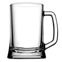 Набор кружек для пива из гладкого стекла