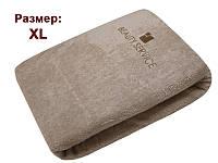 Чехол махровый защитный на кушетку XL (хлопок 100%), цвет капучино