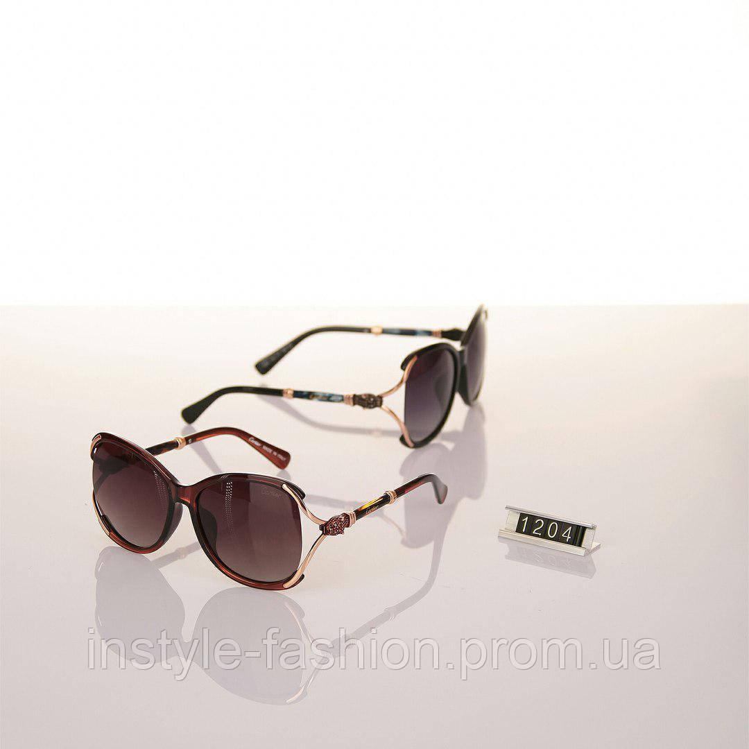 58ed63cd3aed Женские брендовые очки Cartier Polaroid черные, коричневые - Сумки брендовые,  кошельки, очки,