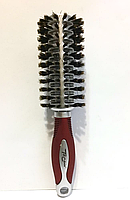 Щётка брашинг с натуральной щетиной Top Choice 63121