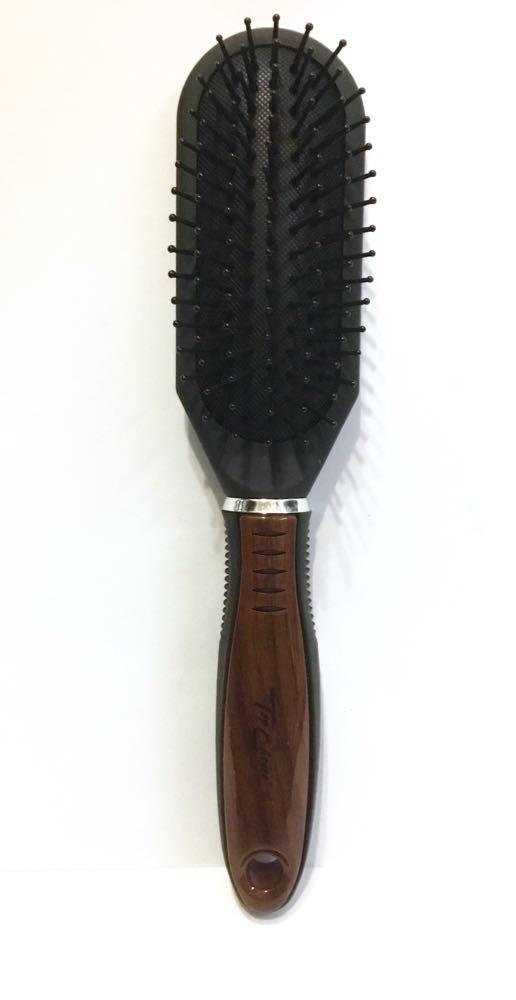 Щётка с деревянной вставкой