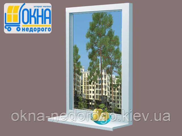 Глухое окно Veka SoftLine
