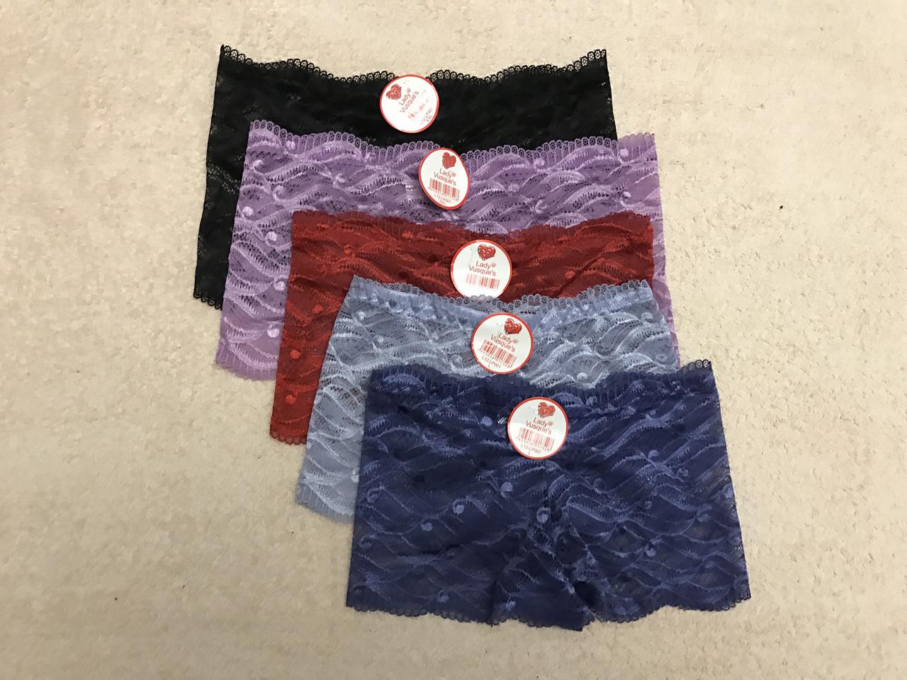 Женские трусы шорты, трусики кружевные