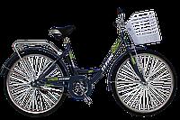 """Велосипед гордской Titan Lux 26"""" (Gray-Green)"""