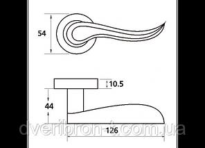 Ручка Z-1295 PB , фото 2