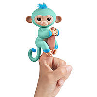 WowWee Fingerlings Интерактивная ручная обезьянка Eddie Interactive Baby Monkey, фото 1