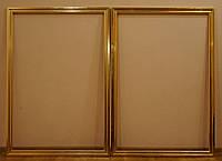 Золочение сусальным золотом и поталью и изготовление деревянных рам.