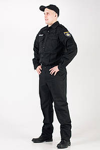 Костюм Поліція ПРЕМЄР ( Чорна ) на гудзиках