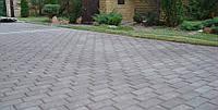 Тротуарная плитка Кирпич 4 см серый, ТМ Игуана