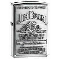 250 JB 928 Зажигалка Zippo (копия) Jim Beam Pewter