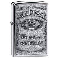 Зажигалка Zippo (копия) Jack Daniels Pewter Emblem