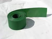 Бордюр зелёный прямой, 15см, фото 1