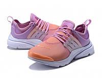 Женские кроссовки Найк Air Presto Orange/Purple Реплика