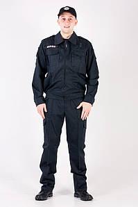 Костюм Поліція ПРЕМЄР ( Чорна ) на Блискавці