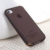 Силиконовый чехол iPhone 4 4S (TPU бампер) (Айфон 4 4С)