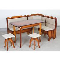 Комплект Ромео (уголок+стол раскладной+2табурета)