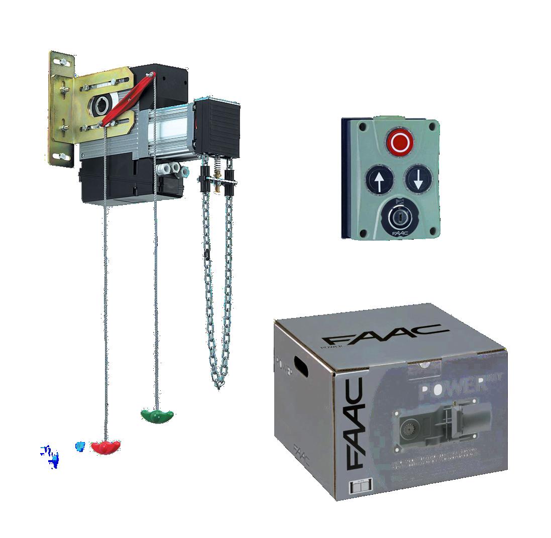 Автоматика для промислових воріт FAAC 540BPR V KIT
