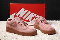 Кроссовки женские Nike Air Force Low Pink (найк аир макс) (реплика), фото 1