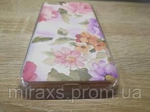 Силиконовый чехол для Xiaomi redmi note 5a. Цветы, фото 2