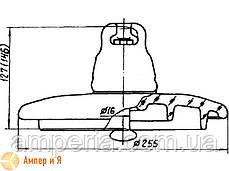 Изолятор подвесной ПС-120Б, фото 2