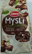 Мюсли Emco Cokolada a Orechy, с шоколадом и орехами, 750 г (Чехия)