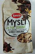 Мюсли Emco Horka Cokolada, с шоколадом, 750 г (Чехия)