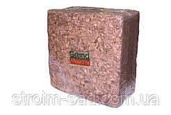 Кокосовый блок GrondMeester UNI100 4,5 кг по штучно в упаковке (100% чипса)