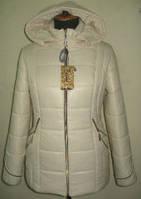 Стильная куртка женская с капюшоном