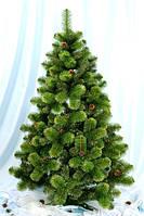 Искусственная елка зеленая 2.2 метра Каролина
