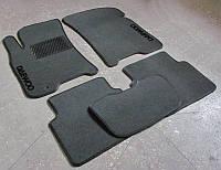 """Коврики на Daewoo Gentra '13-. Текстильные автоковрики. Тип """"Стандарт"""""""