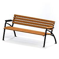 Лавка садовая / Скамейка парковая MS-LP-03P-150