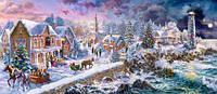 Кастор пазлы 600 Новогодний праздник В-060184