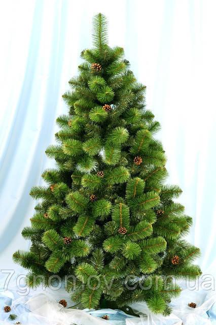 Искусственная елка зеленая 2.5 метра Каролина