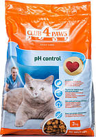 Корм Club 4 Paws полнорационный сухой корм для взрослых кошек поддержание здоровья мочевыделительной системы 3кг