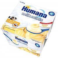 Продукт кисломолочный Humana с бананом и пребиотиками 400 г.