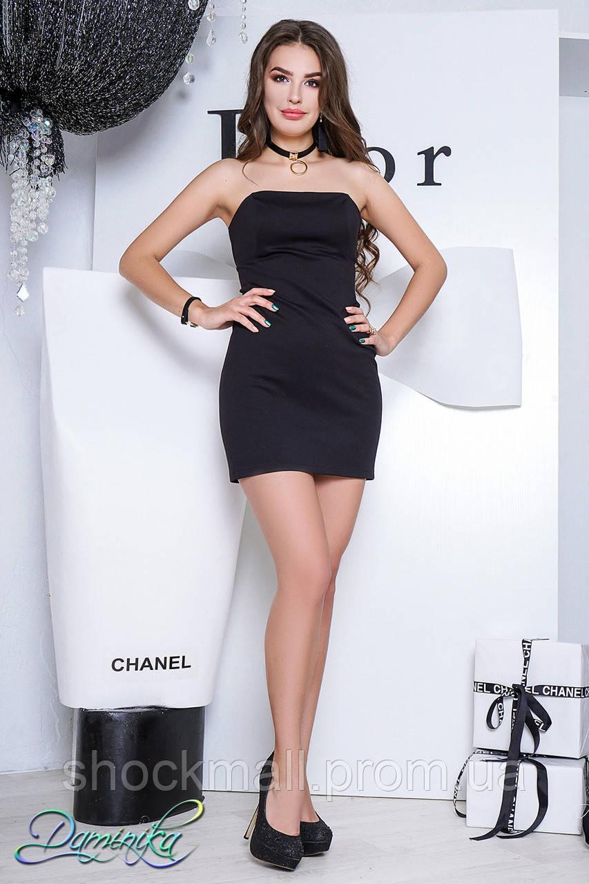 4ee6bdddfdafbe4 Маленькое черное платье без бретелей - Интернет магазин ShockMall в Киеве