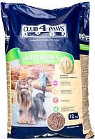 Корм Club 4 Paws полнорационный сухой для взрослых собак малых пород 12кг