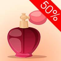 Скидка до 50% на парфюмерию ЖЕНСКАЯ