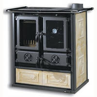 Кухонная варочно-отопительная печь ROSETTA