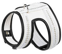 Шлея для собак LUX P XS WHITE HARNESS ferplast