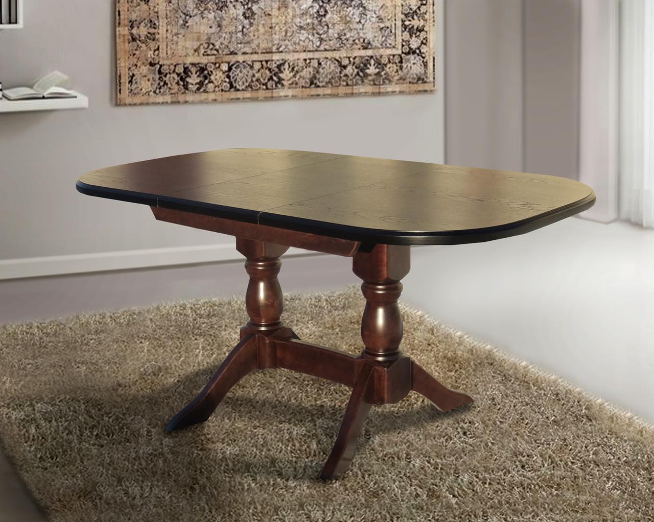 Стол обеденный Орфей орех 160 см (Микс-Мебель ТМ)