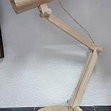 Лампа настольная не крашенная, фото 5
