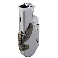 Зажигалка автоген с накладкой орла.