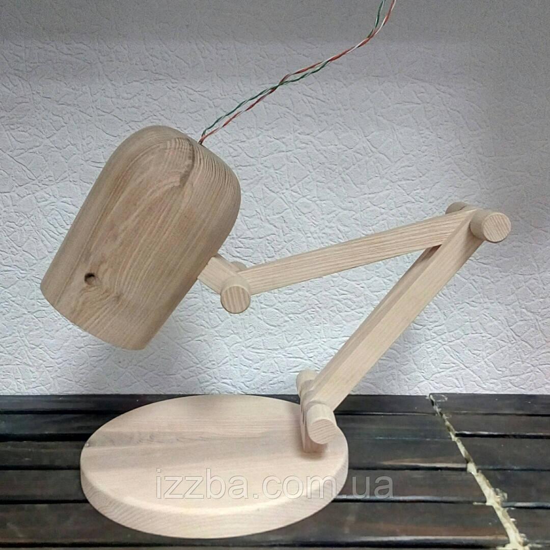 Лампа настольная не крашенная